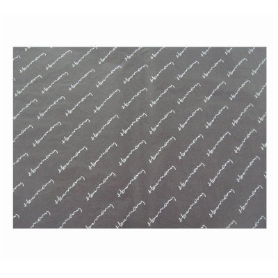 black gift wrapping paper