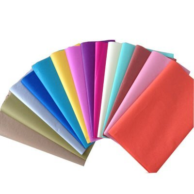 colored tissues