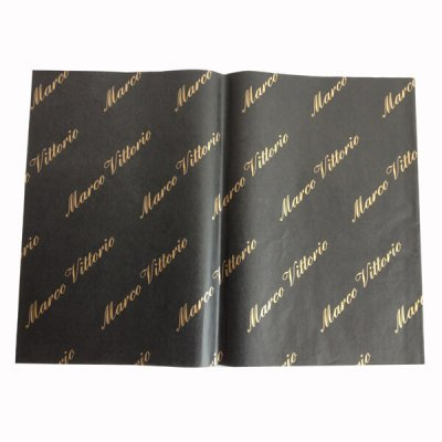 black and gold wrapping paper